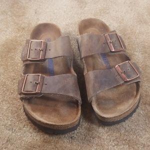 Birkenstock Distressed Sandals